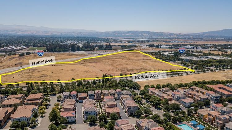 45-acre Livermore site near Pleasanton BART hits market