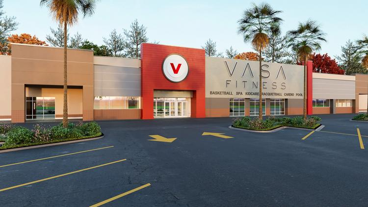 A rendering of a VASA Fitness location.