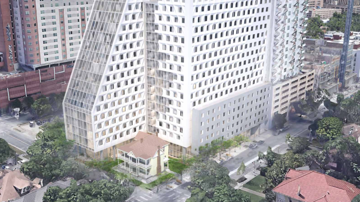 West Campus Tower Could Rise 17 Stories, Surround Historic