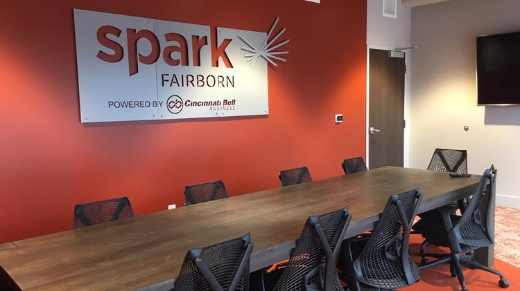 the board room at spark fairborn located at 305 w main st - Kitchen Incubator