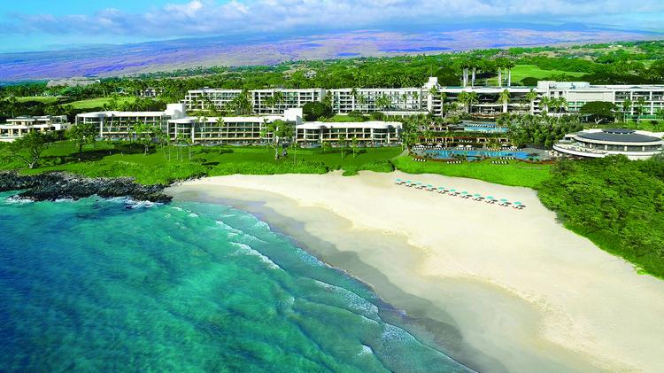 The Hapuna Beach Residences Are Located In Front Of Westin Prince Resort On