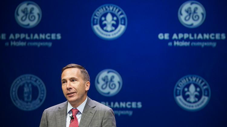 Kevin Nolan President And Ceo Of Ge Liances Speaks During A Press Conference Held