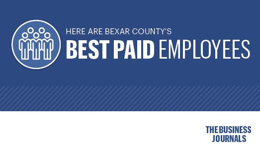 Public Payrolls: Bexar County's highest-paid employees for