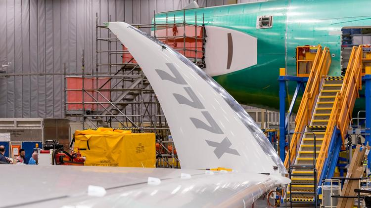 Boeing's 777X painters spill on the secret process - Puget Sound