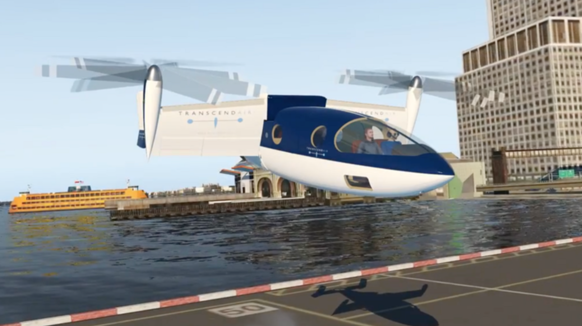 Transcend Air wants to get you from NYC to Boston in 36 minutes