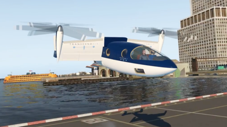 Transcend Air wants to get you from NYC to Boston in 36
