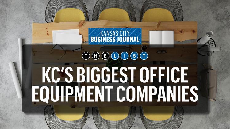 these are kansas city s biggest office equipment companies kansas