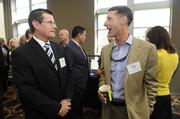 Genesys Systems Integrator's Scott Simkins (left) and Pat Perry.