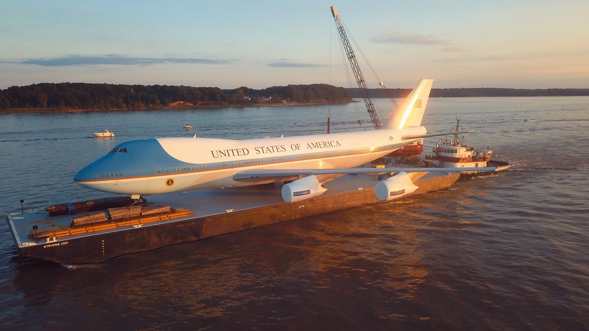 Air Force One Experience on the Potomac - Baltimore Business Journal