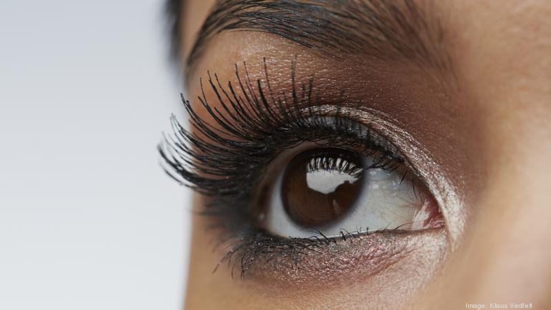 200823bfd97 Close-up of female eye with make-up. Klaus Vedfelt. Fake eyelashes ...