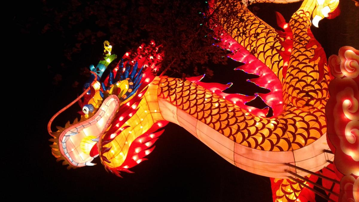 China lights festival adds new exhibits for fourth year at - China lights boerner botanical gardens ...