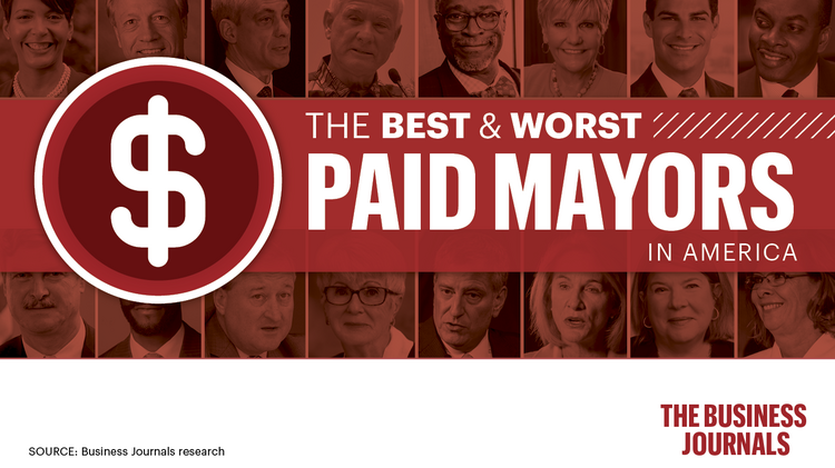 Salaries of big city mayors - The Business Journals