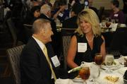 Bank of Kansas City's Ed Schober and Kristin Tyson.