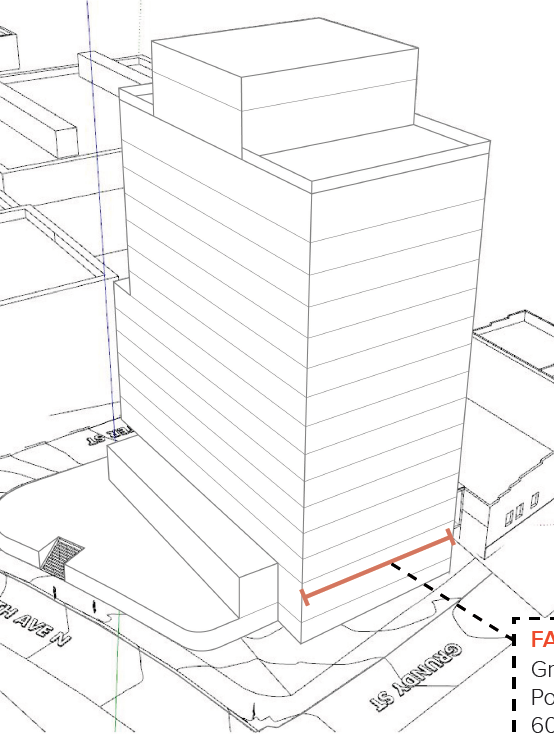 New York City Developer Flank Inc Pitches 15 Story Gulch Hotel