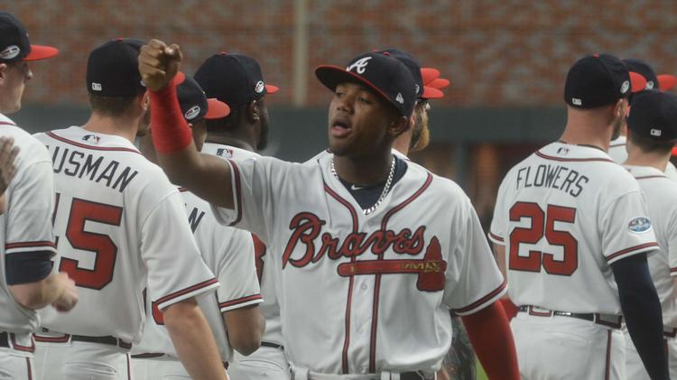 pretty nice f4592 ee9c0 Atlanta Braves sign Ronald Acuna to contract extension ...
