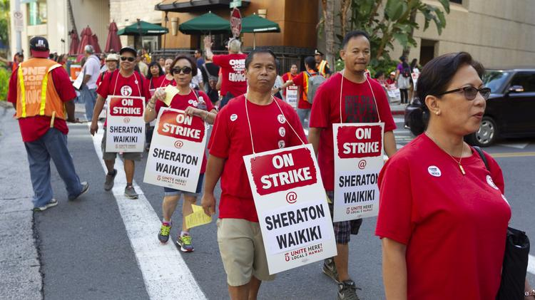 Update on Hawaii Marriott hotel workers strike as it enters second