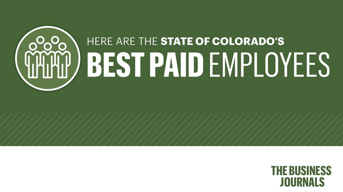 Where the highest-paid State of Colorado employees work - Denver