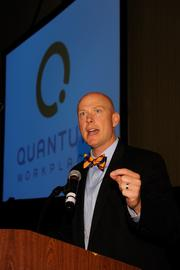 Greg Harris, president of Quantum Workplace - 2013 Best Places to Work Event Sponsor