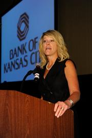 Kristin Tyson, senior vice president and market executive, Bank of Kansas City - 2013 Best Places to Work Event Sponsor