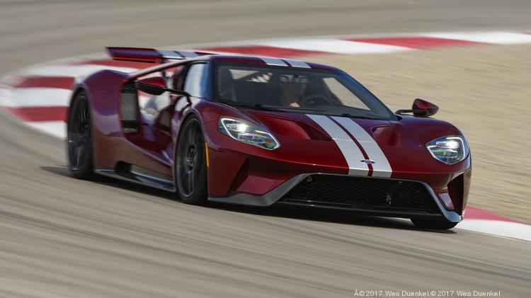 Ford Said Its Expanding Its Ford Gt Supercar Production From  Models The