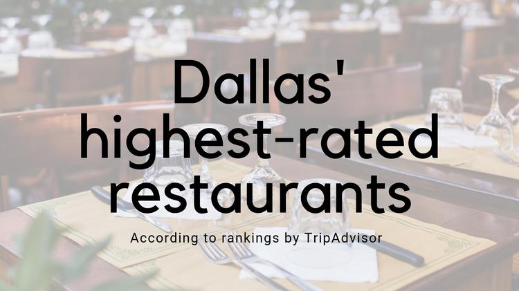From Steak To Souffle See Dallas 50 Highest Rated Restaurants