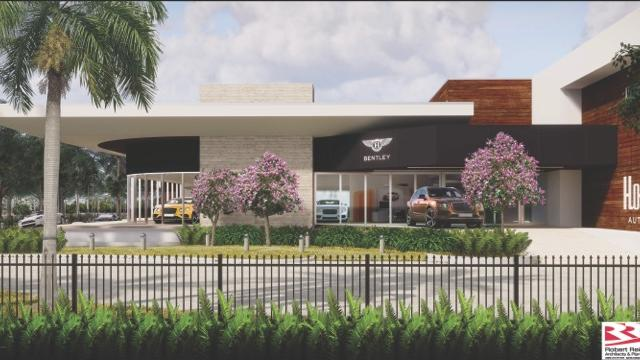 Holman Automotive Expanding Relocating Lauderdale Imports With - Aston martin dealership florida