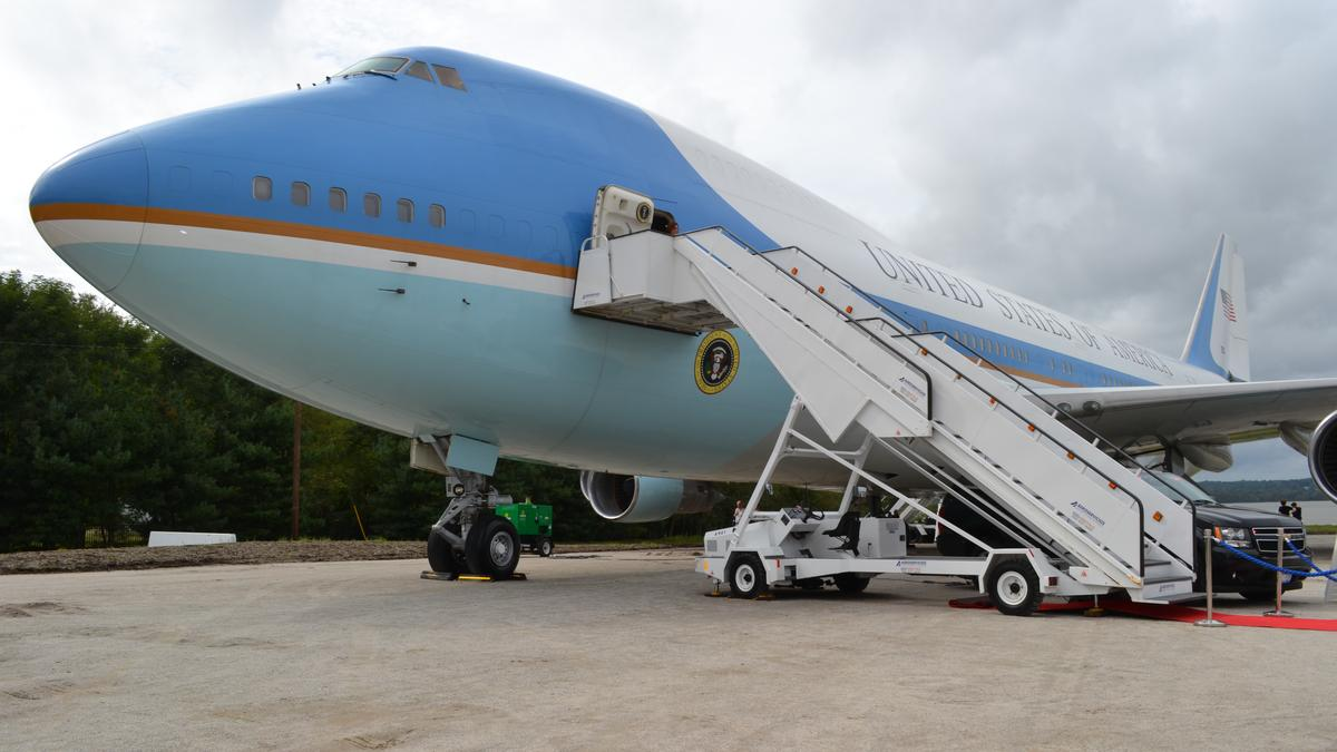 Inside the Air Force One Experience - Baltimore Business Journal