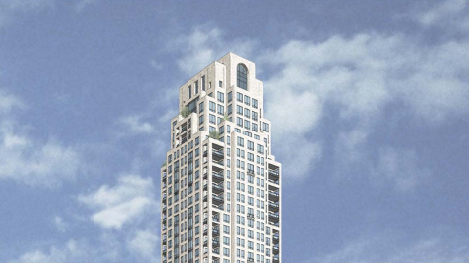 Ryan Cos  and Arcadia LLC near approval to build 41-story