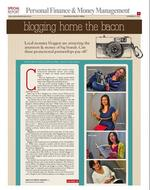 Blogging home the bacon