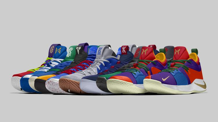 f21da409c8dce0 Nike has unveiled the sneakers that several endorsers will wear in games  during the NBA s opening