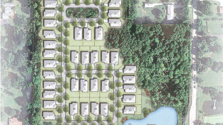 A Dublin Developer Has Pitched Patio Homes For A Plot Of Land Near Gahanna.