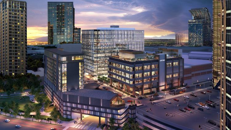 Phipps Plaza redevelopment gears up for vertical construction