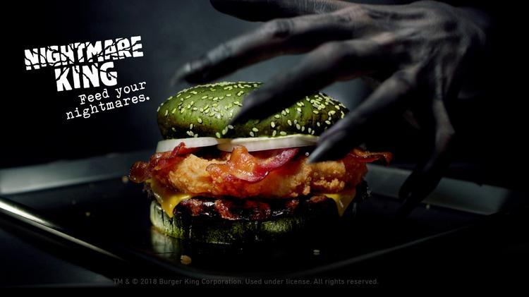 Fast Food Rdup Burger Kings Nightmare Burger Papa Johns New