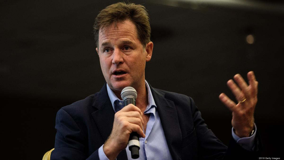 ​Facebook hires Nick Clegg as head of global affairs - Nashville Business Journal
