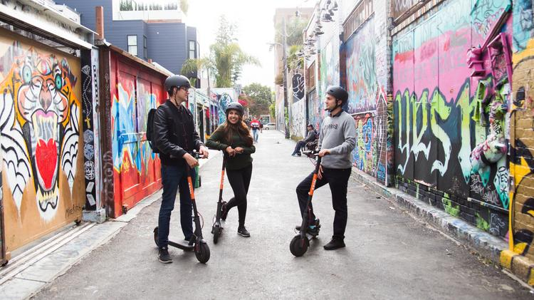 More scooters spin into Denver, but with a twist - Denver Business