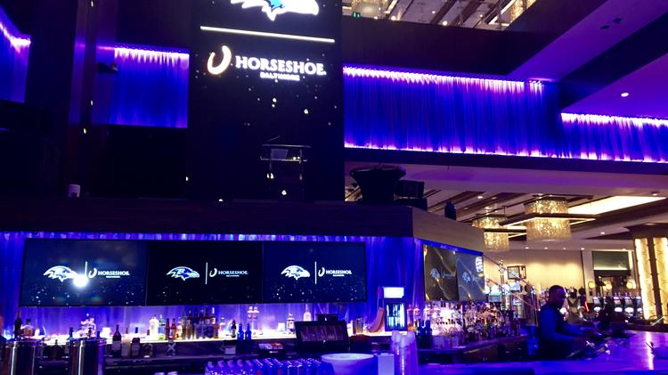 Horseshoe Casino Becomes Official Partner Of Ravens Baltimore