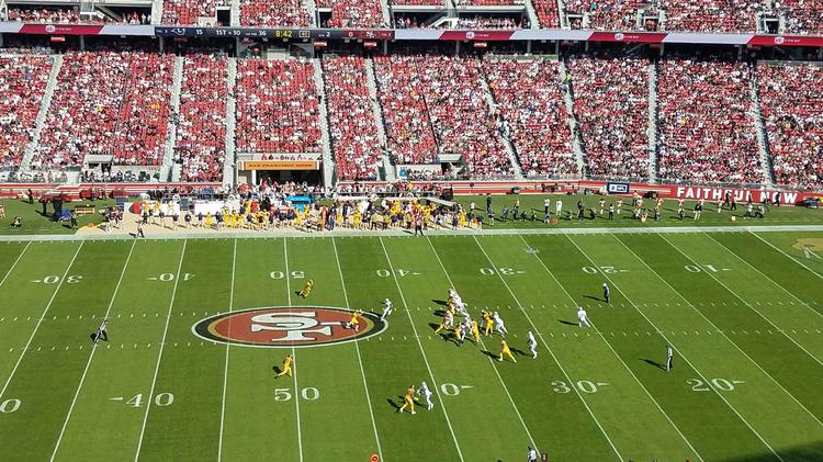 381187c1f 49ers hope partnership with software giant will help sell more $10 beers  and improve game day for fans