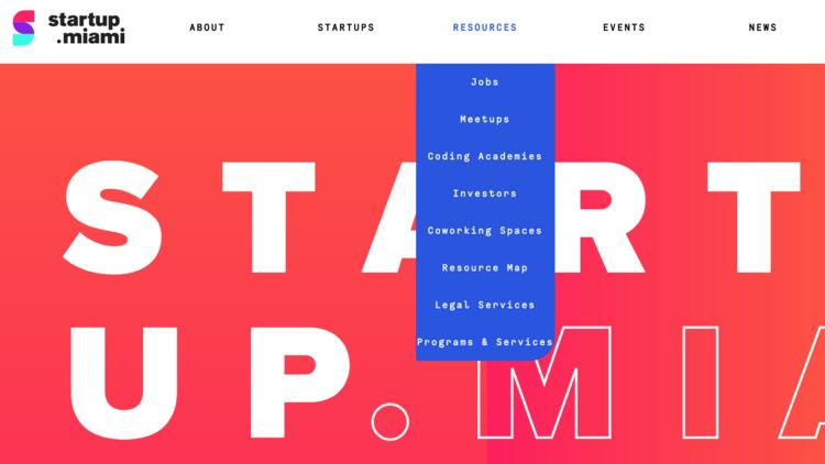 Startup Miami launches as guide to Miami's entrepreneurial