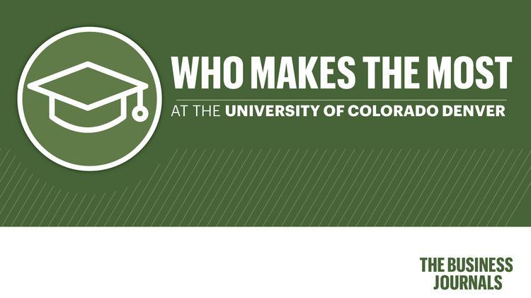 Public Paychecks The 25 Highest Paid Cu Denver Employees Slideshow And Database