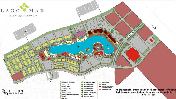 Land Tejas Announces New Crystal Lagoon In Texas City Houston Business Journal