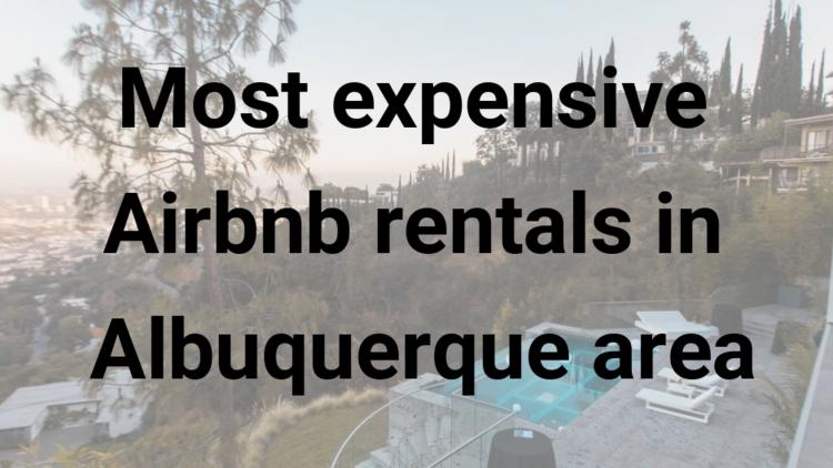Airbnb Albuquerque Santa Fe short-term rental - Albuquerque