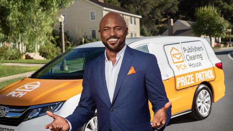 Publishers Clearing House ads featuring Wayne Brady in