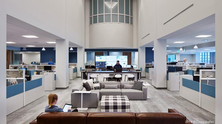 HGA designed Sleep Number's new downtown Minneapolis headquarters.