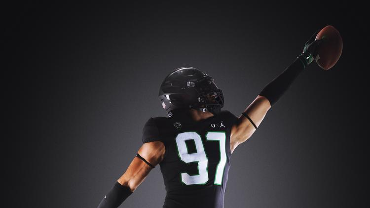 90ed9679561f The University of Oregon's football team on Saturday will wear uniforms  made by Nike's Jordan brand