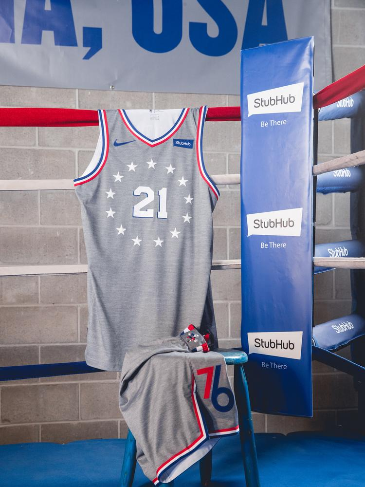1caa956ce46 Philadelphia 76ers to debut new City Edition uniforms on Nov. 9 ...