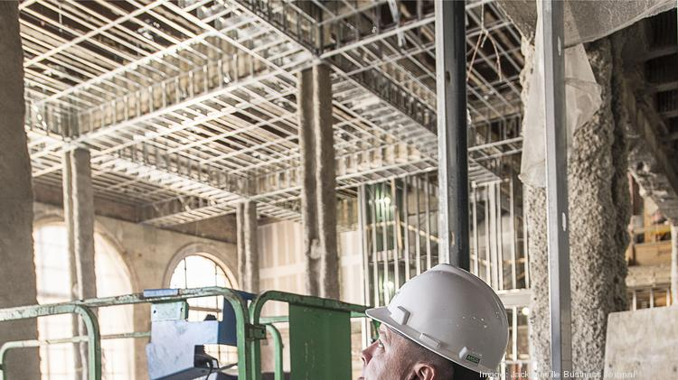 Photos: Barnett building restoration nears milestone - Jacksonville