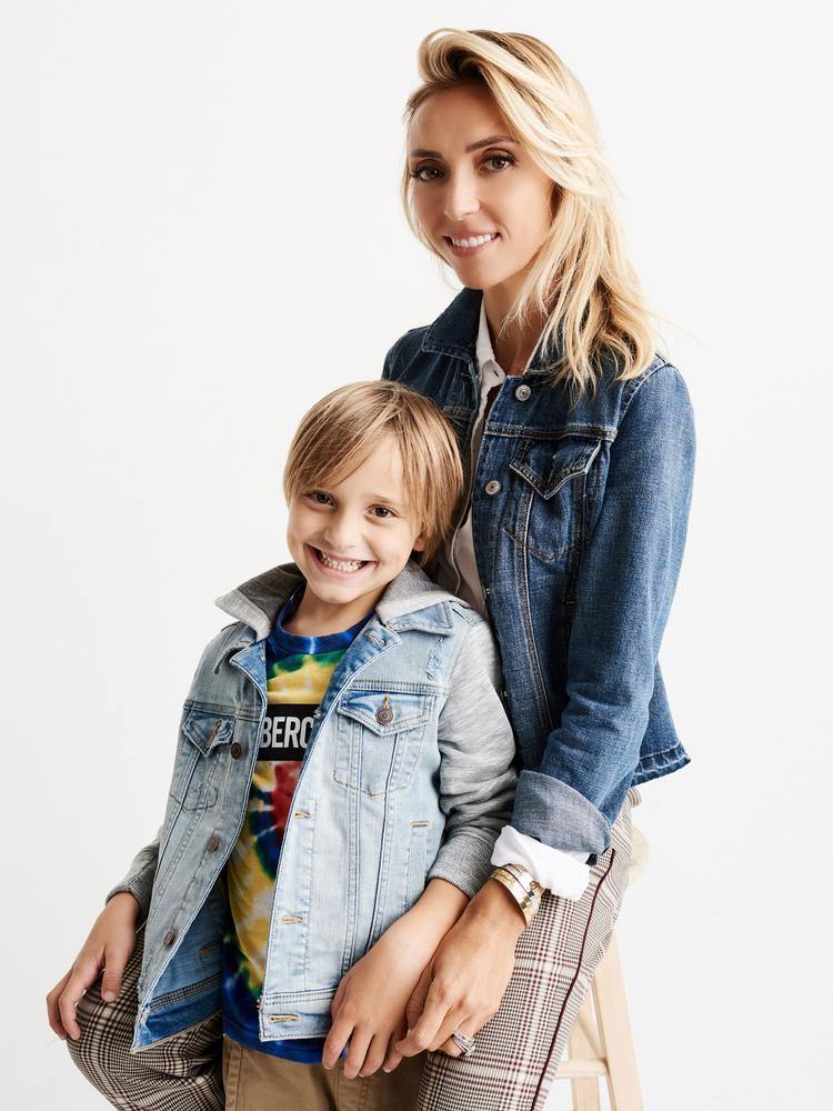 giuliana rancic working on clothes for abercrombie kids - columbus
