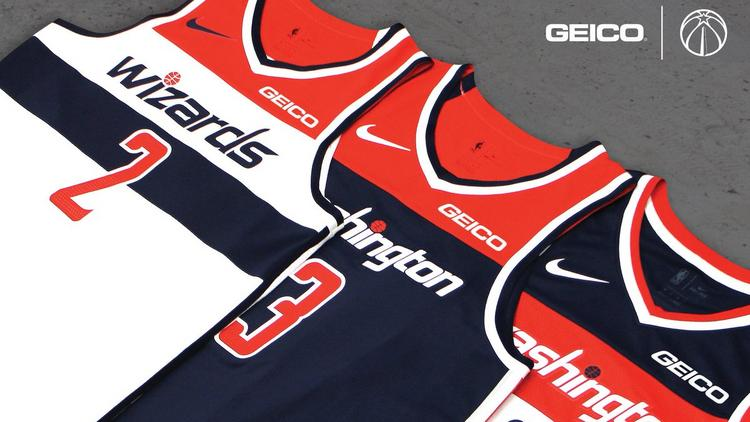 6a13c52e7c4 Geico will be the sponsor of Monumental Sports' basketball team jerseys.