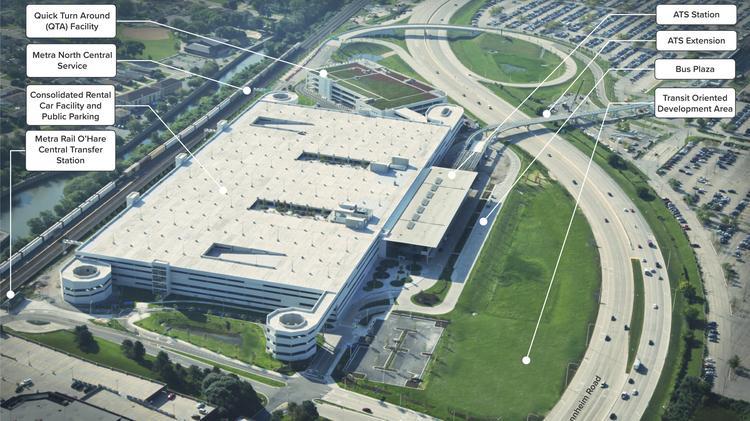 O Hare S Massive Multimodal Facility Quietly Opens Chicago