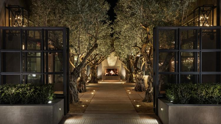 cc6b40004 Restoration Hardware s investment in hospitality is on display at the  brand s newest location in Yountville.